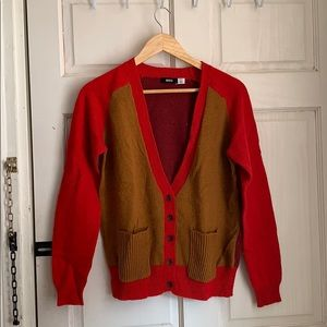 Urban Outfitters color block cardigan